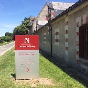 Signalétique du Château de Nitray