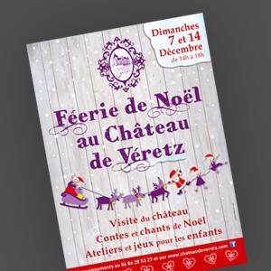 Féerie de Noël au château de Véretz